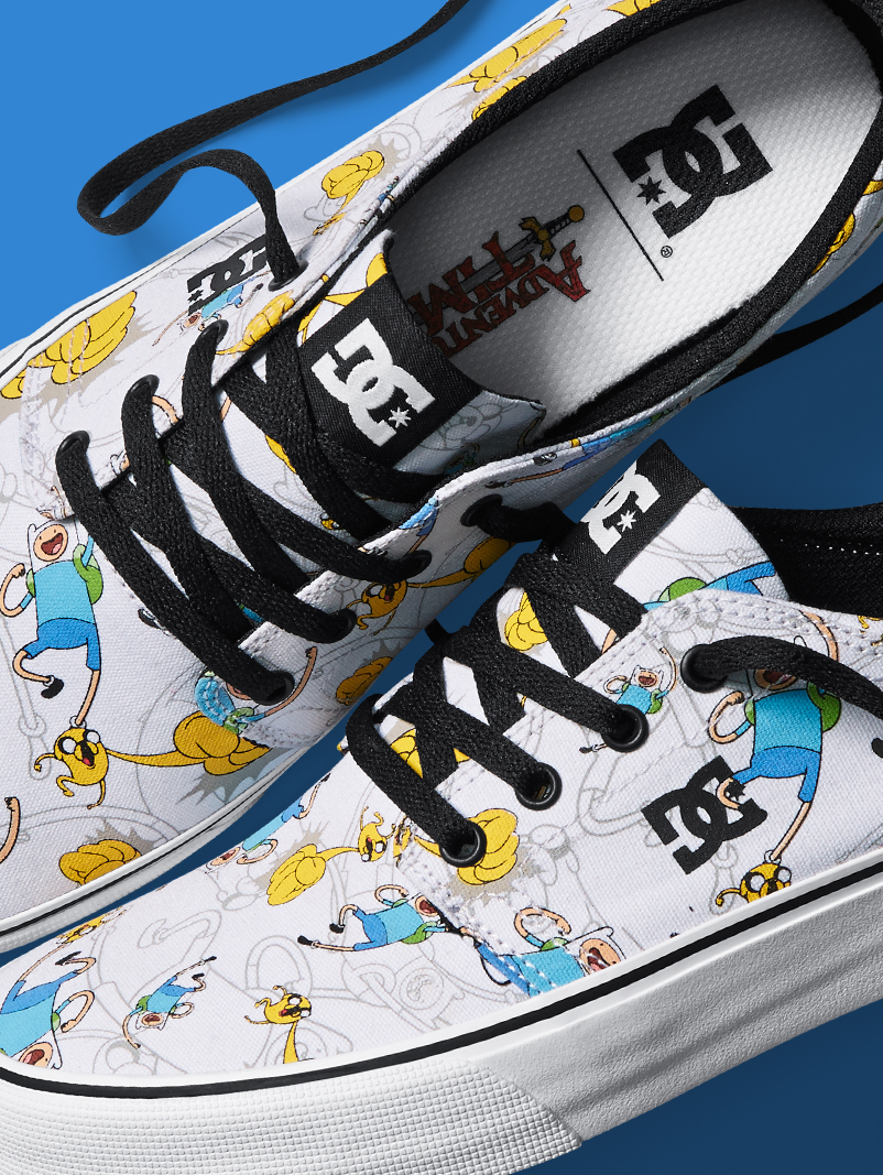Dc X Adventure Time Step Into A Magic World Dc Shoes