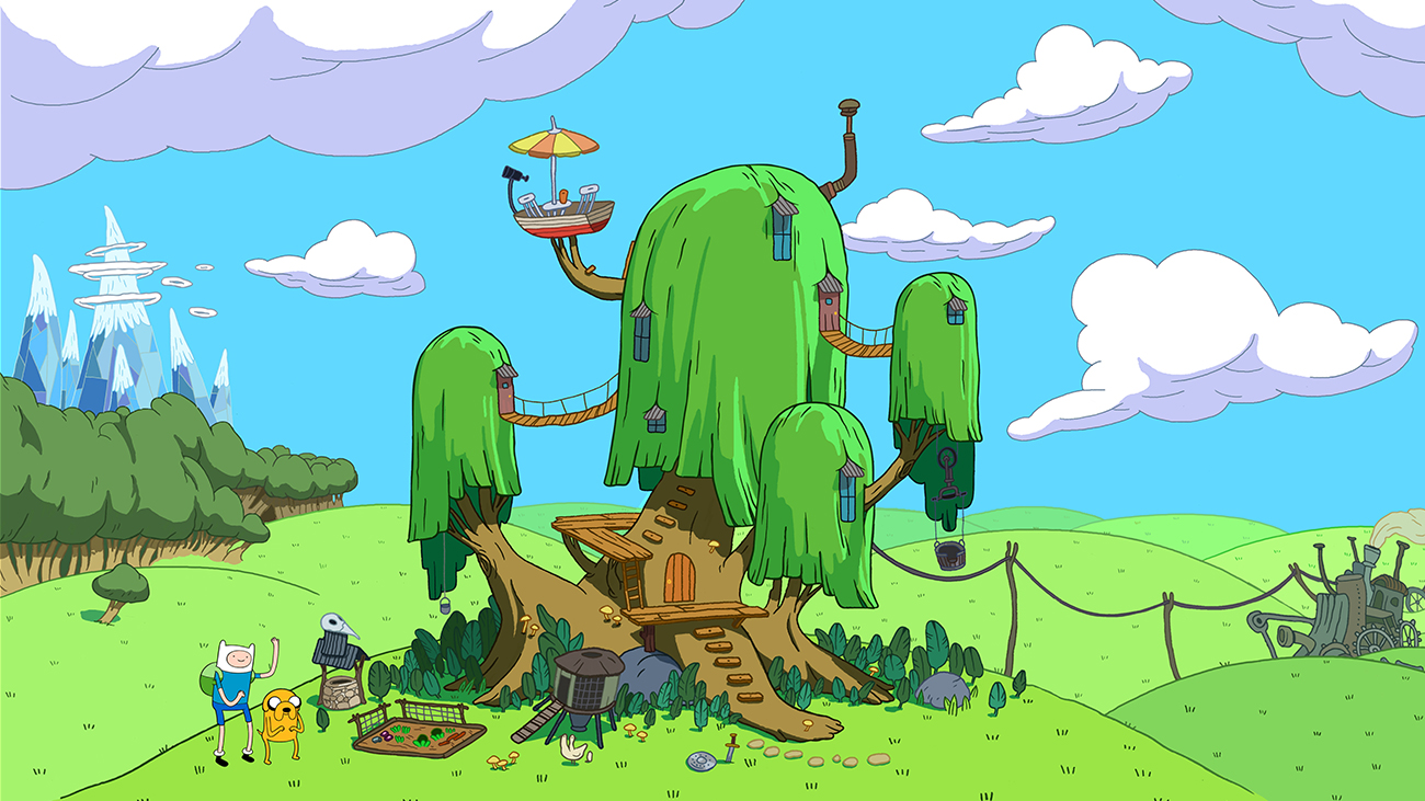 Adventure Picture: DC X Adventure Time - Step Into A Magic World