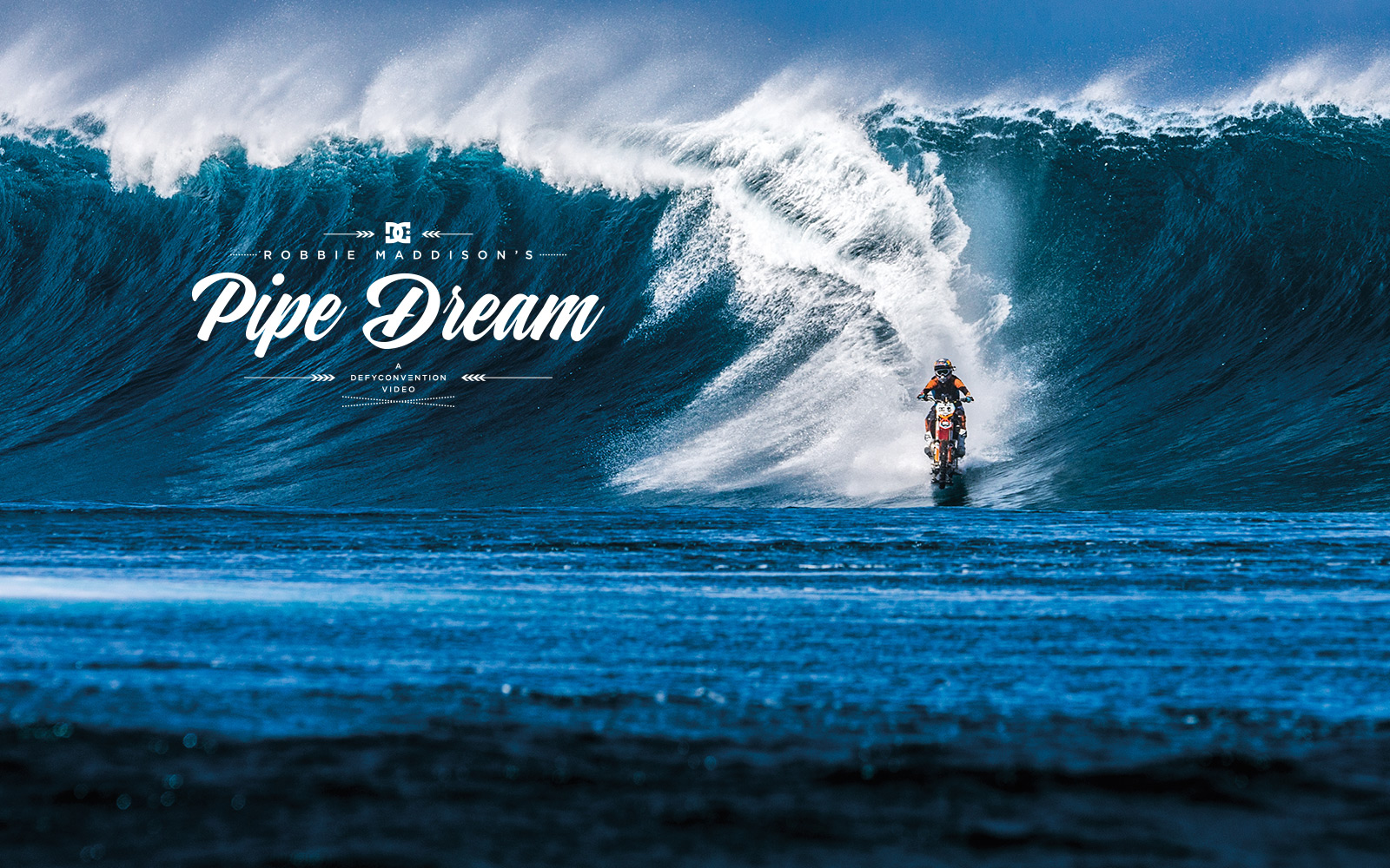 Pipe Dream Video feat Robbie Maddison