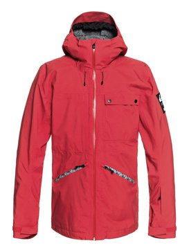 퀵실버 Quiksilver Snow Spindye Snow Jacket,FLAME (rpz0)