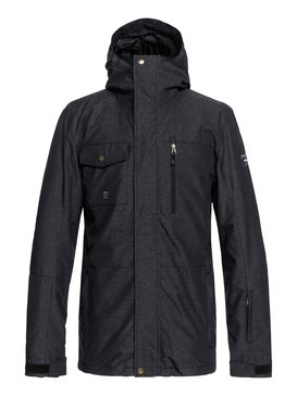 퀵실버 Quiksilver Mission 3in1 Shell Snow Jacket