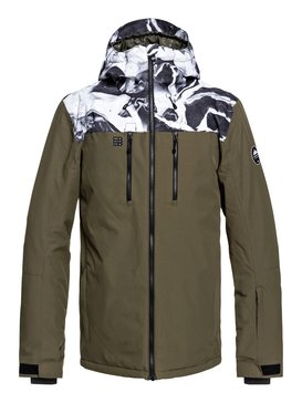 퀵실버 Quiksilver Mission Block Snow Jacket