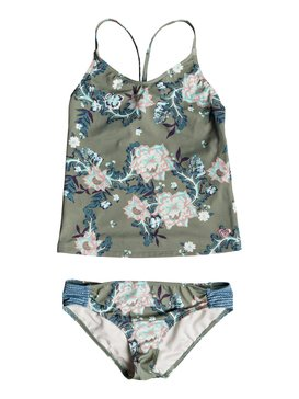 록시 Roxy Girls 7-14 Surf The Desert - Tankini Set