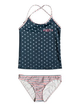 록시 Roxy Girls 7-14 Surfing USA Tankini Set