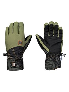 록시 Roxy Vermont Snowboard/Ski Gloves,FOUR LEAF CLOVER_SWELL FLOWERS (gph2)