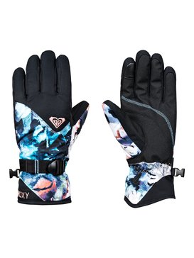 록시 Roxy ROXY Jetty Snowboard/Ski Gloves,BACHELOR BUTTON_WATER OF LOVE (bgz1)