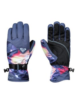 록시 Roxy ROXY Jetty Snowboard/Ski Gloves,CORAL CLOUD_DUSK SWIRL (mfn2)