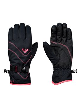 록시 Roxy ROXY Jetty Snowboard/Ski Gloves,TRUE BLACK (kvj0)