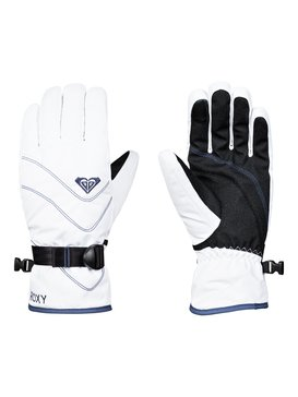 록시 Roxy ROXY Jetty Snowboard/Ski Gloves,BRIGHT WHITE (wbb0)