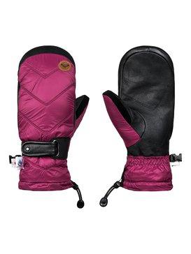 록시 Roxy Victoria Snowboard/Ski Mittens,BEET RED (rrv0)