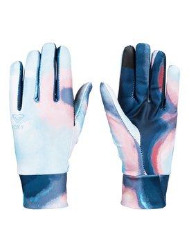 록시 Roxy Liner Snowboard/Ski Gloves,CORAL CLOUD_DUSK SWIRL (mfn2)