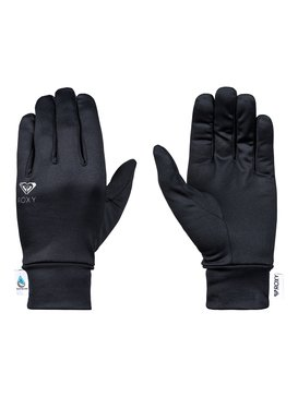 록시 Roxy E&C Liner Gloves,TRUE BLACK (kvj0)