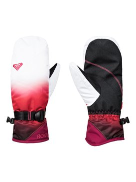 록시 Roxy ROXY Jetty SE Snowboard/Ski Mittens,TEA BERRY_WAVE GRADIENT (mmn2)