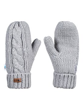 록시 Roxy Winter Mittens,WARM HEATHER GREY (sjeh)