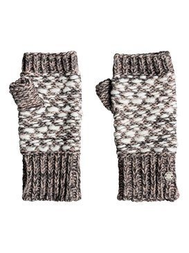 록시 Roxy Corner Of The Fire Knitted Fingerless Gloves,HERITAGE HEATHER (sgrh)