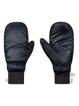 록시 Roxy ROXY Packable Snowboard/Ski Mittens,TRUE BLACK (kvj0)