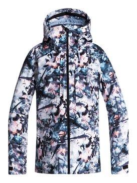 록시 Roxy Essence 2L GORE-TEX® Snow Jacket,BACHELOR BUTTON_WATER OF LOVE (bgz1)