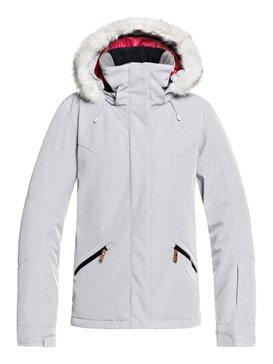 록시 Roxy Atmosphere Snow Jacket,WARM HEATHER GREY (sjeh)