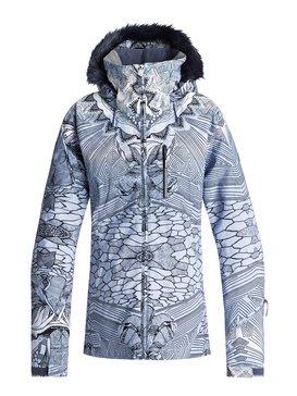 록시 Roxy Jet Ski Premium Snow Jacket,CROWN BLUE_FREEZELAND (bqy1)