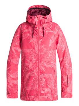 록시 Roxy Valley Snow Jacket,TEA BERRY_WASHED FLORAL (mmn1)