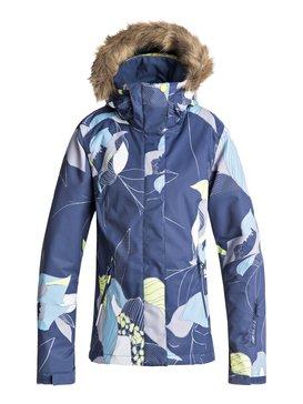 록시 Roxy Jet Ski Snow Jacket,CROWN BLUE_BOLD PETAL (bqy8)