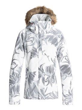 록시 Roxy Jet Ski Snow Jacket,BRIGHT WHITE_SWELL FLOWERS (wbb2)