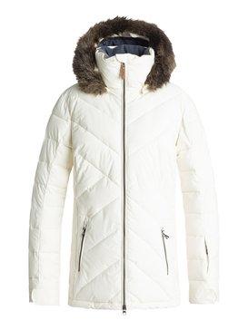 록시 Roxy Quinn Snow Jacket,EGRET (wbs0)