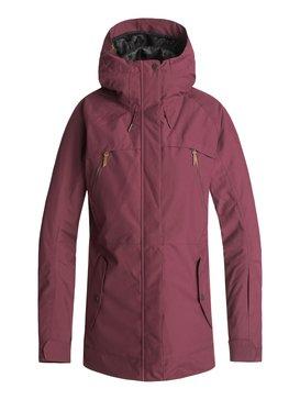 록시 Roxy Tribe Snow Jacket,BEET RED (rrv0)