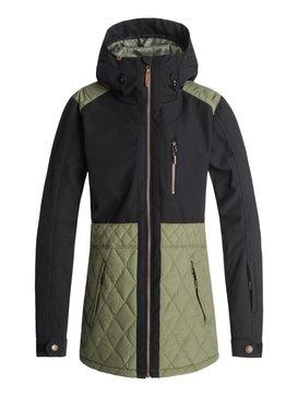 록시 Roxy Journey Snow Jacket,FOUR LEAF CLOVER (gph0)