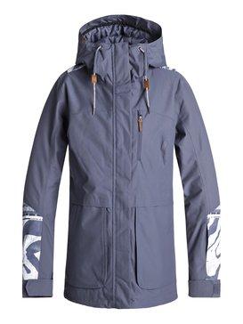 록시 Roxy Andie Snow Jacket,CROWN BLUE_WILD ETHNIC (bqy2)
