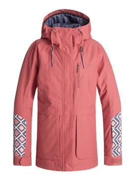 록시 Roxy Andie Snow Jacket,DUSTY CEDAR (mmr0)