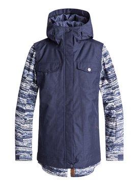 록시 Roxy Ceder Snow Jacket,CROWN BLUE_DENIM STRIPES (bqy3)