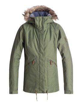 록시 Roxy Meade Snow Jacket,FOUR LEAF CLOVER (gph0)