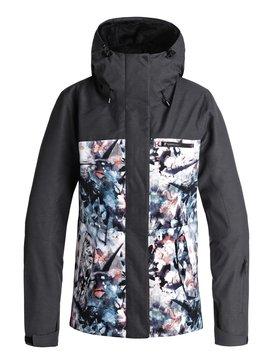 록시 Roxy ROXY Jetty 3N1 Snow Jacket,BACHELOR BUTTON_WATER OF LOVE (bgz1)