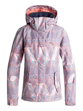 록시 Roxy ROXY Jetty Snow Jacket,MINIMAL GREY_MOSAIC (skg1)