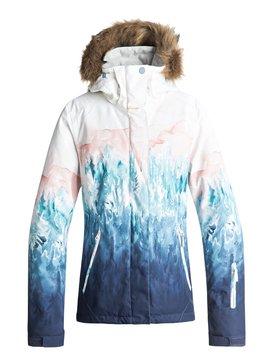 록시 Roxy Jet Ski SE Snow Jacket,BRIGHT WHITE_SNOWYVALE (wbb7)