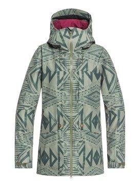 록시 Roxy Glade 2L GORE-TEX® Snow Jacket,FOUR LEAF CLOVER_MATADOR (gph1)