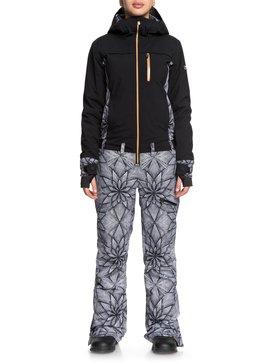 록시 Roxy Illusion Snow Suit,TRUE BLACK_POP SNOW STARS (kvj6)
