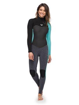록시 뒷지퍼 원피스 서핑 잠수복 래쉬가드 Roxy 3/2mm Performance Chest Zip Wetsuit