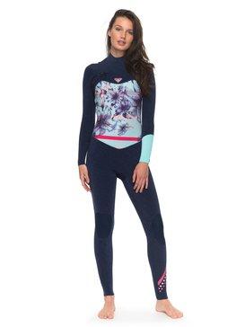 록시 원피스 서핑 래쉬가드 잠수복 Roxy 3/2mm Pop Surf Chest Zip Wetsuit