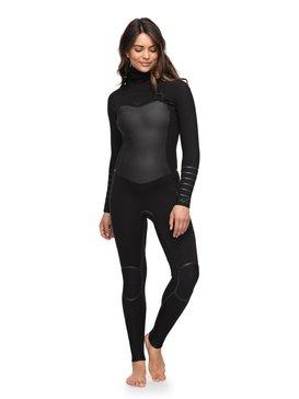 록시 원피스 서핑 래쉬가드 후드 잠수복 Roxy 5/4/3mm Syncro Plus - Hooded Chest Zip Wetsuit