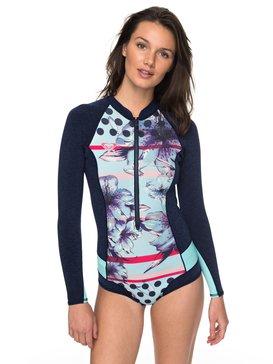 록시 원피스 서핑 래쉬가드 Roxy 1mm Pop Surf Long Sleeve Front Zip Springsuit