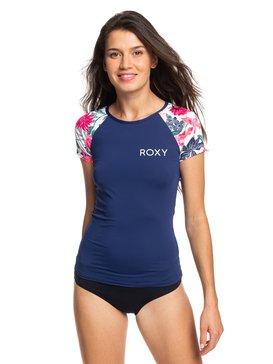 록시 자외선 차단 UPF 50 어반 웨이브 반팔 래쉬가드 Roxy Urban Waves Short Sleeve UPF 50 Rash Guard
