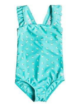 록시 여아용 수영복 Roxy Girls 2-6 Baby Saguaro One Piece Swimsuit