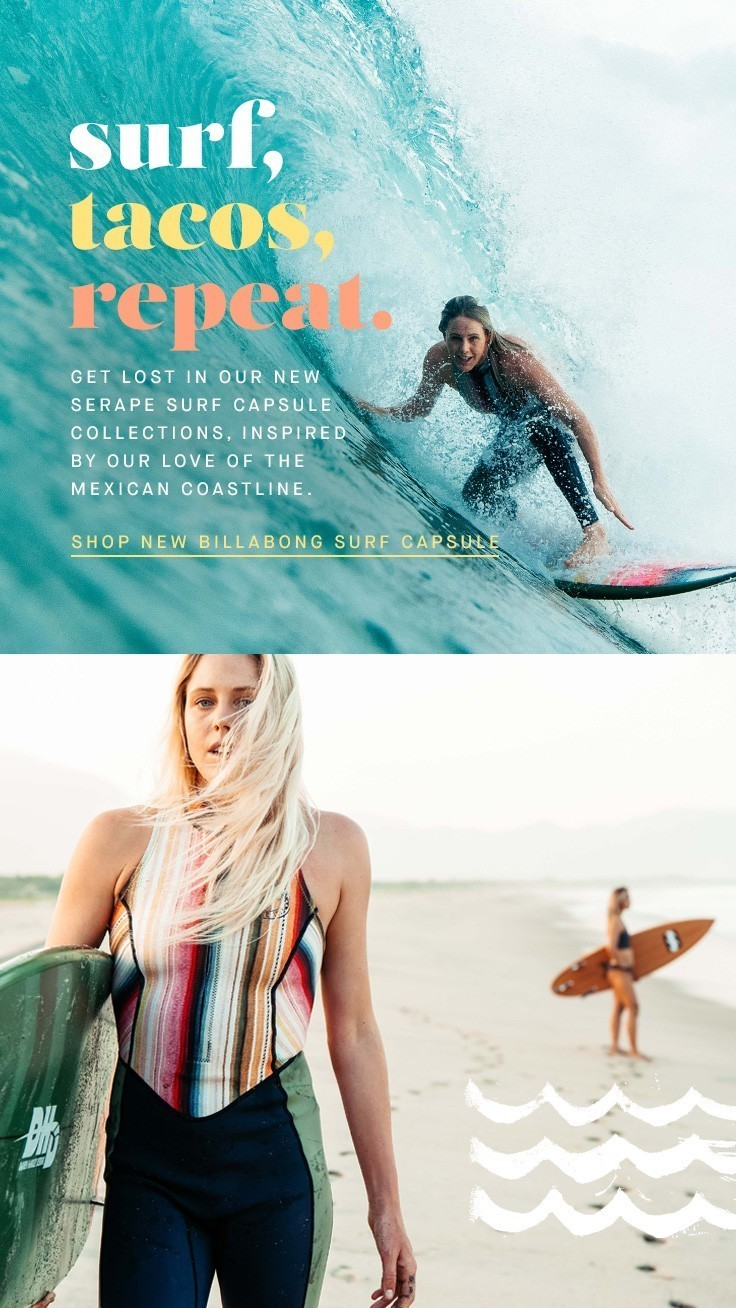 Womens Lifestyle & Surfwear - Shop the full Collection