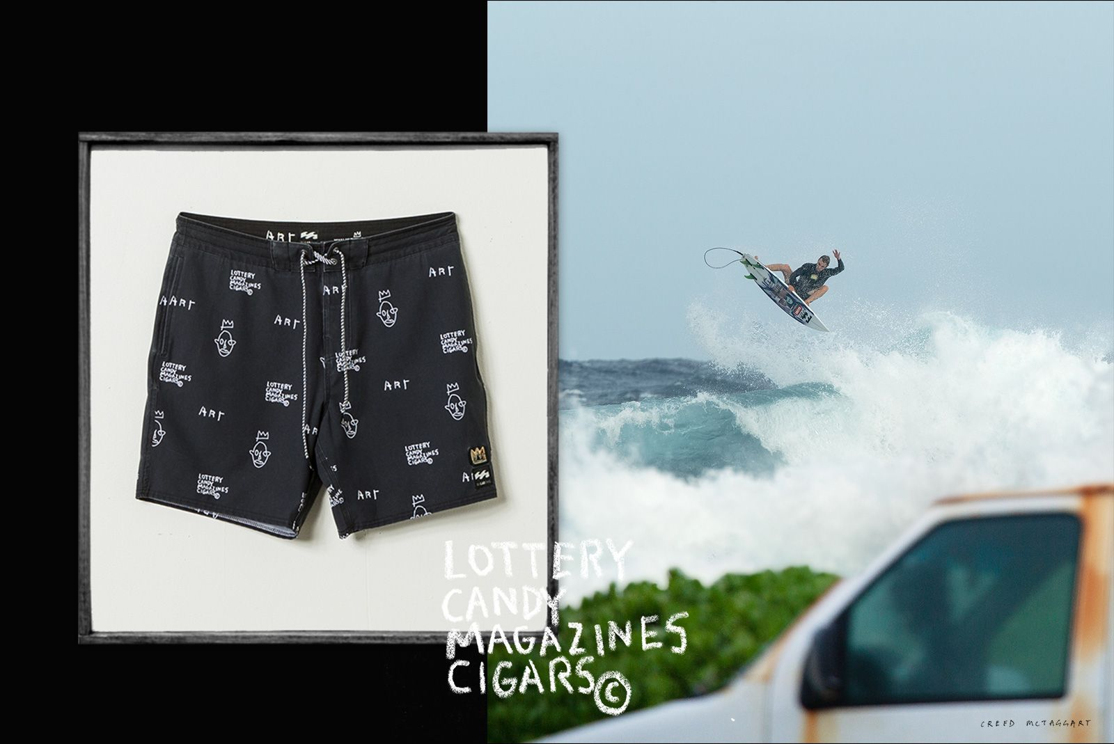 Billabong Surf 2019 | Jean-Michel Basquiat Surfing Apparel collection