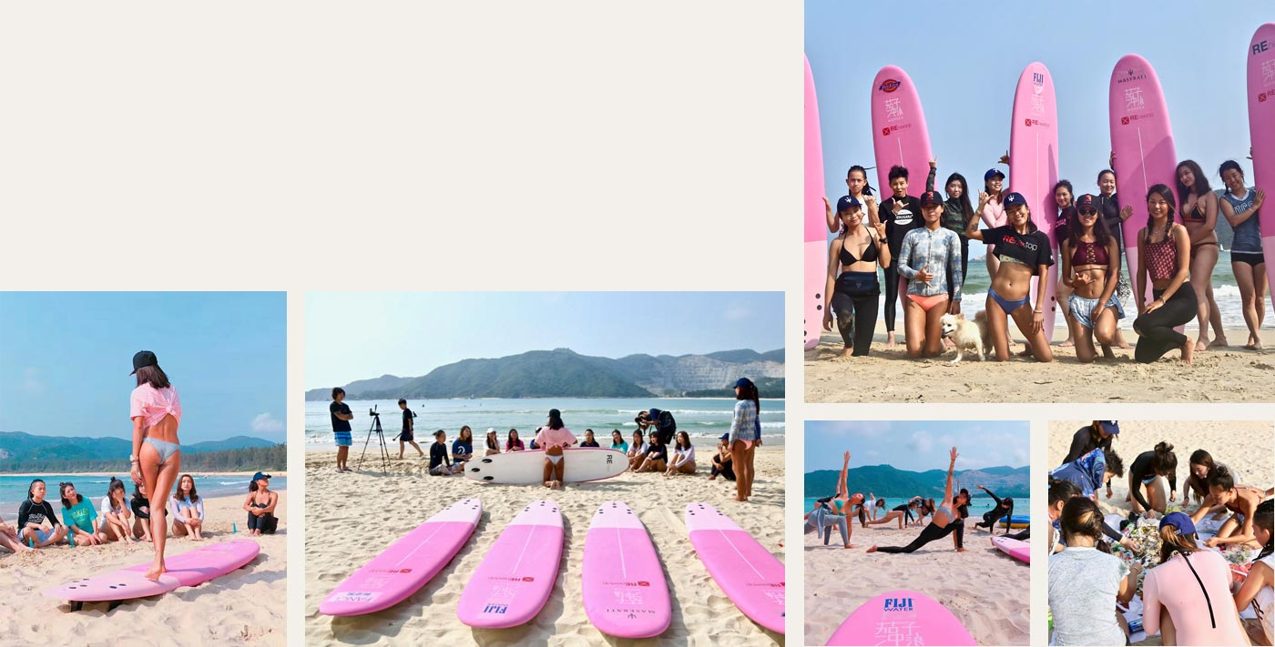 EL CAMP DE SURF PARA CHICAS DE MONICA