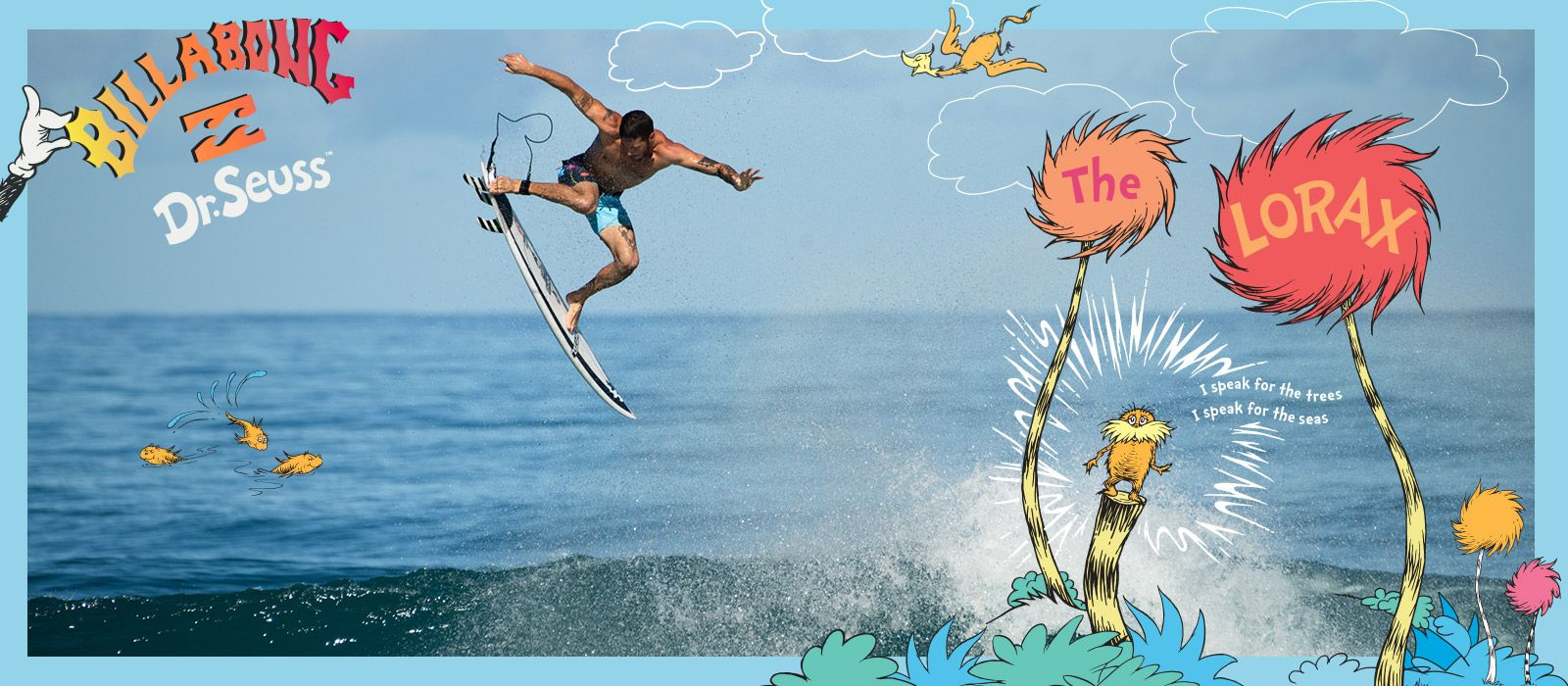 Billabong x Dr. Seuss