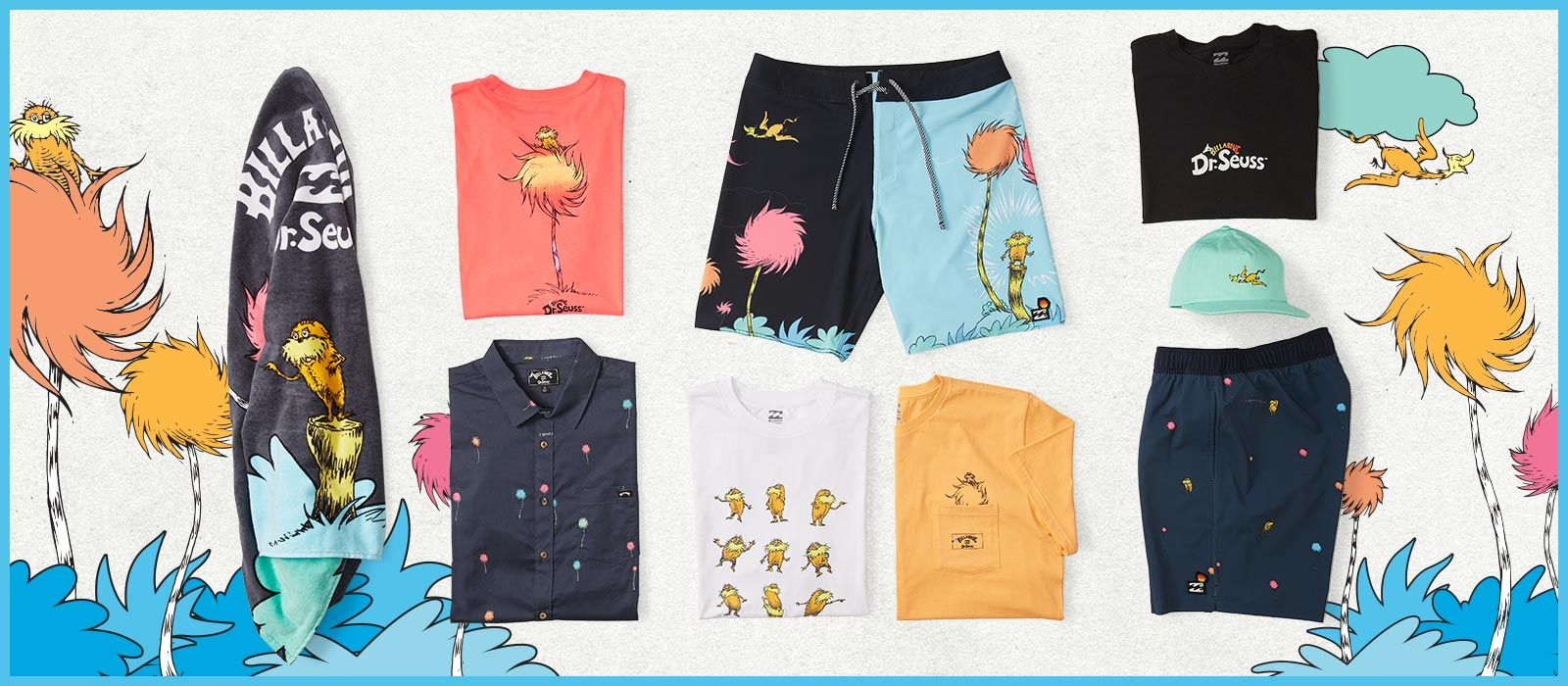 Billabong x Dr. Seuss : Lorax