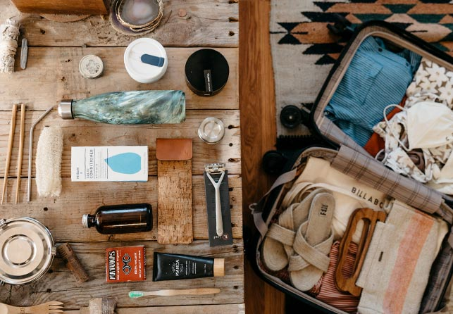 What to pack foR eco fRiendly tRavel